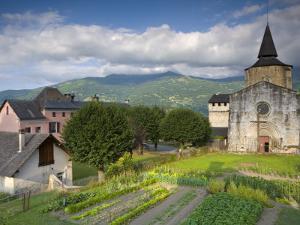 Abbey Church, St-Savin, Midi -Pyrenees, France by Doug Pearson