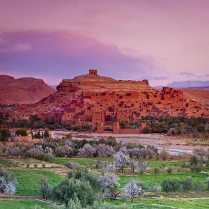 Ait Benhaddou, Atlas Mountains, Morocco by Doug Pearson