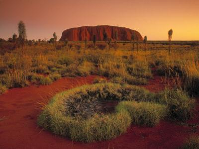 Ayers Rock, Northern Territory, Australia by Doug Pearson