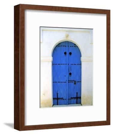 Blue Door, Karaman Village, Northern Cyprus