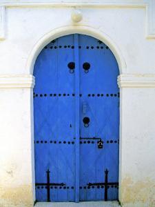 Blue Door, Karaman Village, Northern Cyprus by Doug Pearson