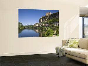 Chateau at Beynac-Et-Cazenac and Dordogne River, Beynac, Dordogne, France by Doug Pearson