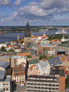 City Skyline, Riga, Latvia by Doug Pearson