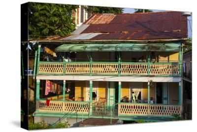 Colonial Architecture, Port Antonio, Jamaica, West Indies, Caribbean, Central America