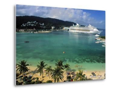Cruise Ship and Turtle Beach, Ocho Rios, Jamaica