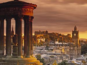 Dugald Stewart Monument in Edinburgh by Doug Pearson