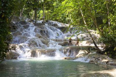 Dunns River Falls, Ocho Rios, Jamaica, West Indies, Caribbean, Central America by Doug Pearson