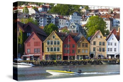 Fishing Warehouses in the Bryggen District