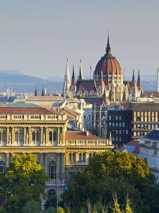 Hungarian Parliament Building, Budapest, Hungary by Doug Pearson