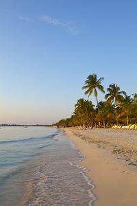 Idyllic White Sand Beach, Negril, Jamaica by Doug Pearson