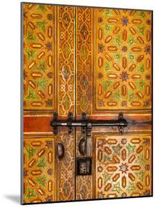 Interior Door Detail, Moulay Ismal Mousoleum, Medina, Meknes, Morocco by Doug Pearson
