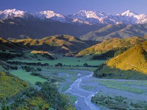 Kaikoura Range, South Island, New Zealand by Doug Pearson