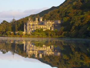 Kylemore Abbey, Connemara National Park, Connemara, Co, Galway, Ireland by Doug Pearson