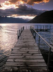 Lake Wakatipu, Queenstown, South Island, New Zealand by Doug Pearson