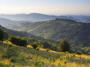 Landscape Near Montsegur, Ariege, Pyrenees, France by Doug Pearson