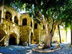 Medieval Architecture, Rhodes Town, Rhodes, Greece by Doug Pearson
