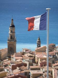 Menton, French Riviera, Cote D'Azur, France by Doug Pearson