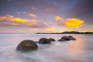 Moeraki Boulders, South Island, New Zealand by Doug Pearson