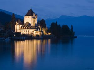 Oberhofen Castle, Lake Thun, Berner Oberland, Switzerland by Doug Pearson