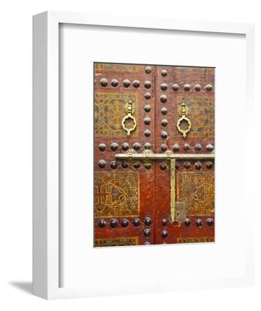 Ornate Door, Sidi Ahmed Tijani Mosque, the Medina, Fes, Morocco
