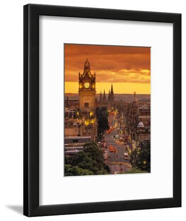 Princes St., Calton Hill, Edinburgh, Scotland