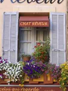 Restaurant Facade, Aix-En-Provence, Provence, France by Doug Pearson