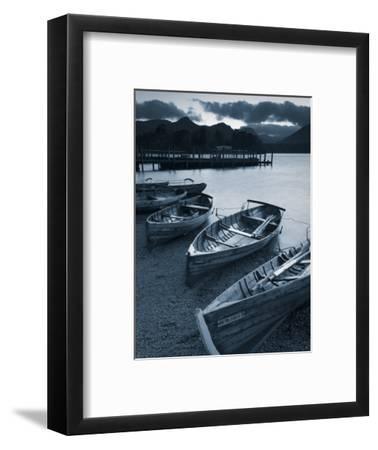 Rowing Boats, Derwent Water, Lake District, Cumbria, UK
