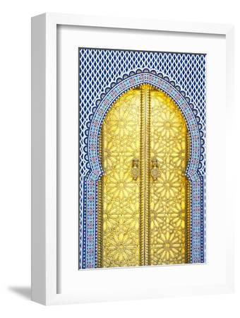 Royal Palace Door, Fes, Morocco by Doug Pearson