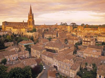 St. Emilion, Gironde, Aquitaine, France by Doug Pearson