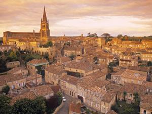 St. Emilion, Gironde, Aquitaine, France by Doug Pearson