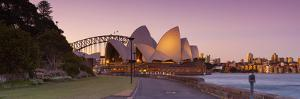 Sydney Opera House & Harbour Bridge, Darling Harbour, Sydney, New South Wales, Australia by Doug Pearson