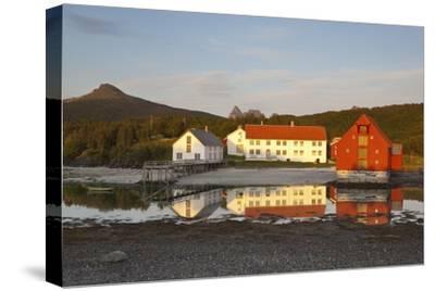 The Old Trading Centre of Kjerringoy, Nordland, Norway, Scandinavia, Europe