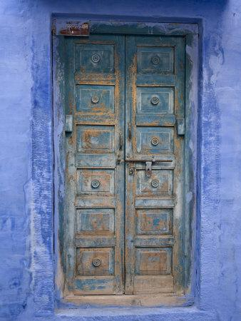 Traditional Blue Architecture, Jodhpur, Rajasthan, India