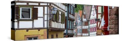 Traditional Half Timbered Buildings in Schiltach's Picturesque Medieval Altstad, Baden-Wurttemberg
