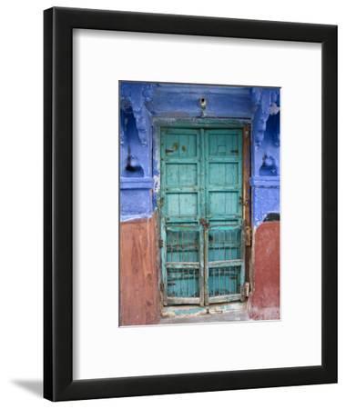 Typical Blue Architecture, Jodhpur, Rajasthan, India