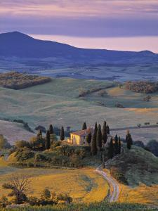 Val d'Orcia, Tuscany, Italy by Doug Pearson