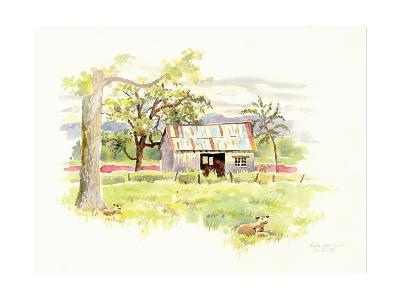 Doug's Shed-Gwendolyn Babbitt-Art Print