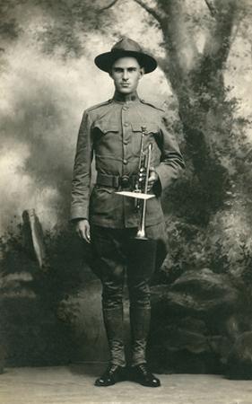 Doughboy with Bugle, World War I
