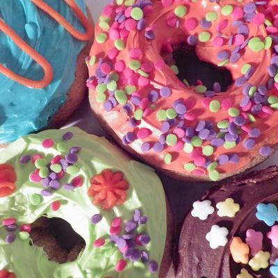 Doughnut Choices II-Monika Burkhart-Photographic Print