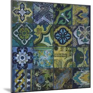 Cobalt Mosaic II by Douglas