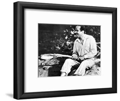 Douglas Fairbanks Playing 'Mr Robinson Crusoe', 1932