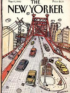 The New Yorker Cover - May 17, 1982 by Douglas Florian