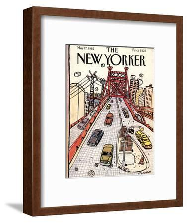 The New Yorker Cover - May 17, 1982