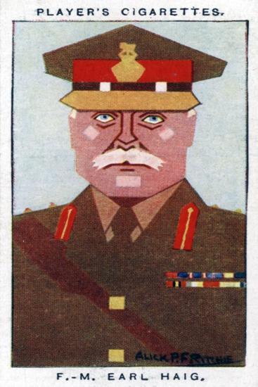 Douglas Haig, 1st Earl Haig, British Field Marshal, 1926-Alick PF Ritchie-Giclee Print