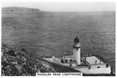 Douglas Head Lighthouse, Isle of Man, 1937--Giclee Print