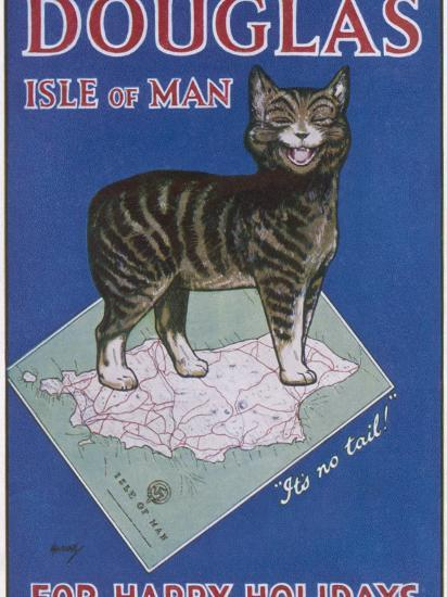 Douglas, Isle of Man: for Happy Holidays--Photographic Print