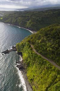 Coastline, Kaumahina State Wayside Park, Hana Coast, Maui, Hawaii, USA by Douglas Peebles