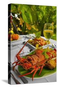 Cuisine, Lobster, Fiji by Douglas Peebles