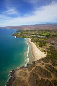 Hapuna Beach Prince Hotel, Mauna Kea Beach Resort, Kohala, Big Island, Hawaii, USA by Douglas Peebles