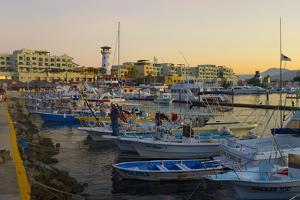 Marina, Cabo San Lucas, Baja, Mexico by Douglas Peebles